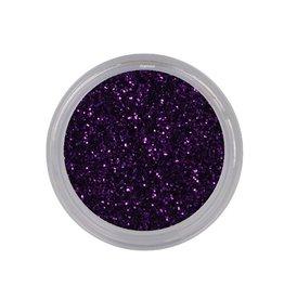 Glitterpoeder Dark Purple