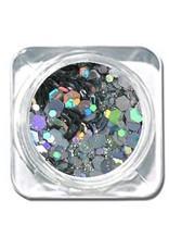 Chunky Mix Glitter AB Silver