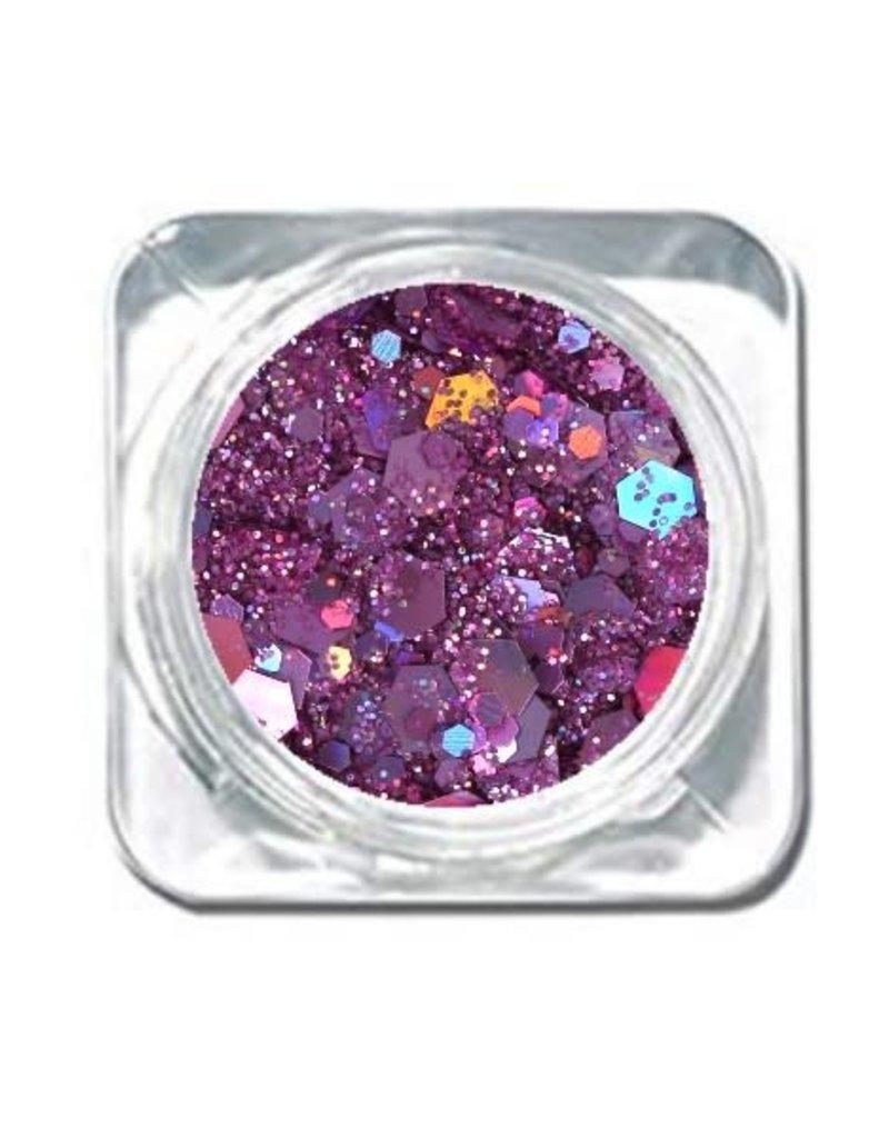 Chunky Mix Glitter Pink