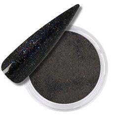 Polvo Acrílico Glitter Negra