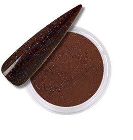 Polvo Acrílico Glitter Brown