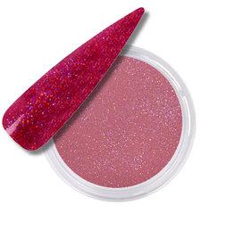 Polvo Acrílico Glitter Rose
