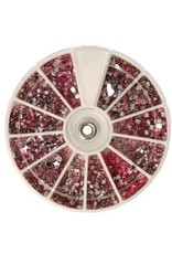 Carrousel Strass Mix Pink Shapes