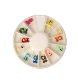 Carrousel 3D Fimo Bears