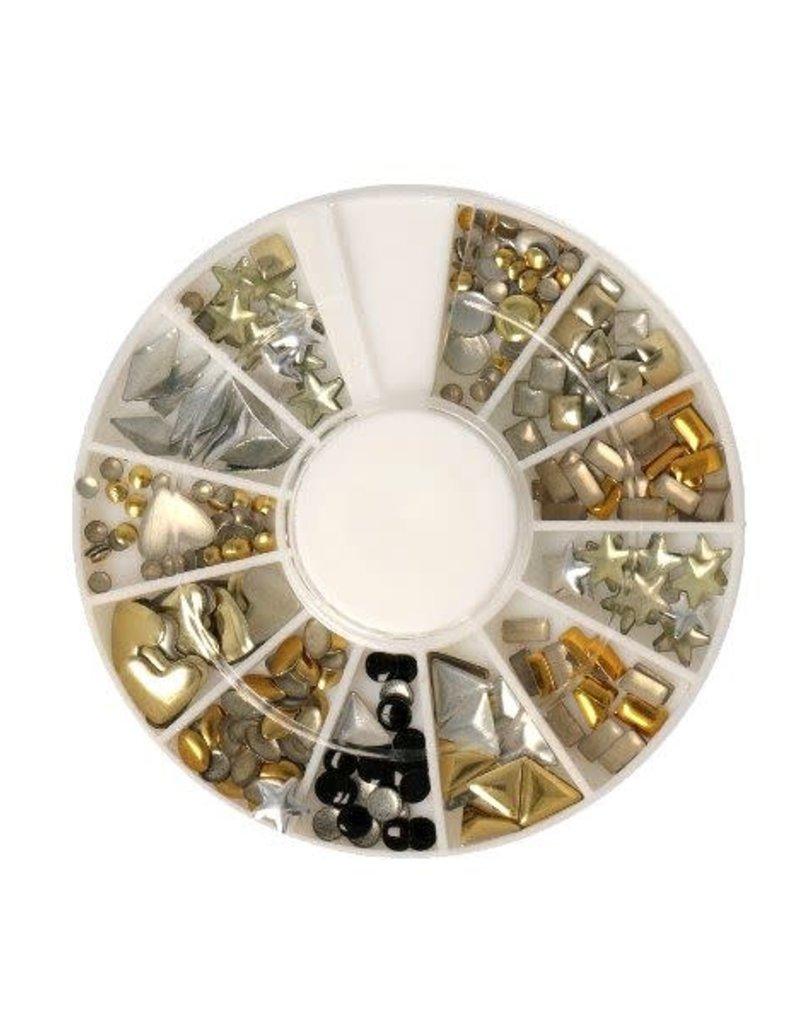 Carrousel Metallics Mix Shapes