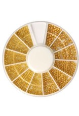 Carrousel Beads Gold Mix