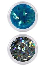 Nailart Set Hologram Glitters