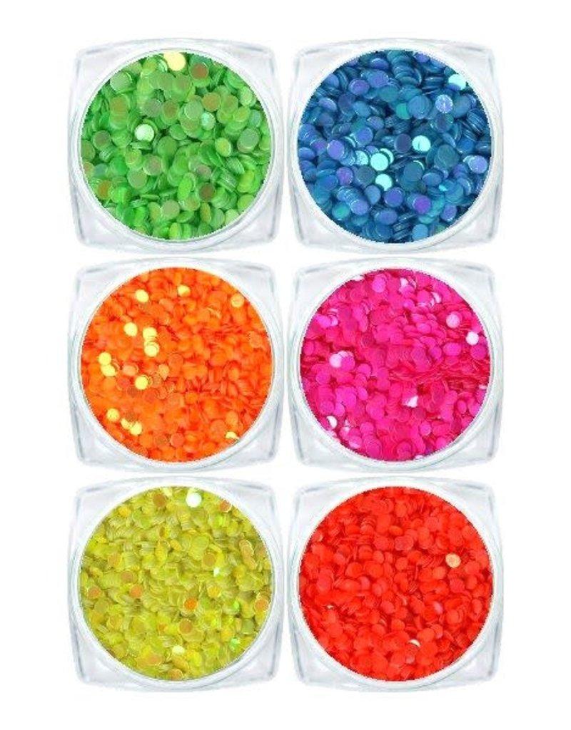 Neon Glitter Set 1MM