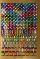Filigree Chrome Square Dicht Goud Multi