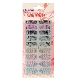 Nail Tattoo Leopard/Snake Multicolor