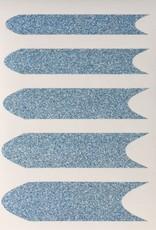 Smile Line Glitter Blue