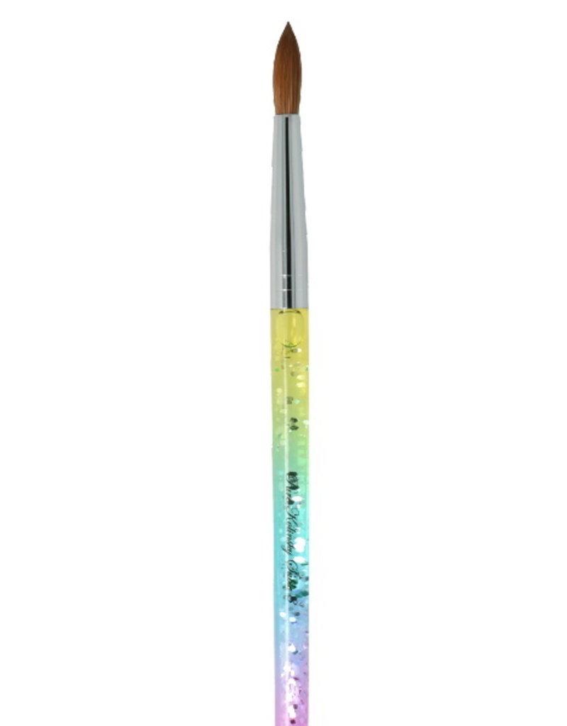 Liquid Rainbow Kolinsky Penseel NR 8