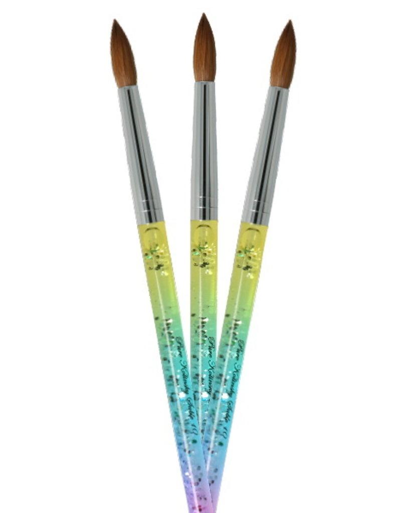 Liquid Rainbow Kolinsky Brush NR 10