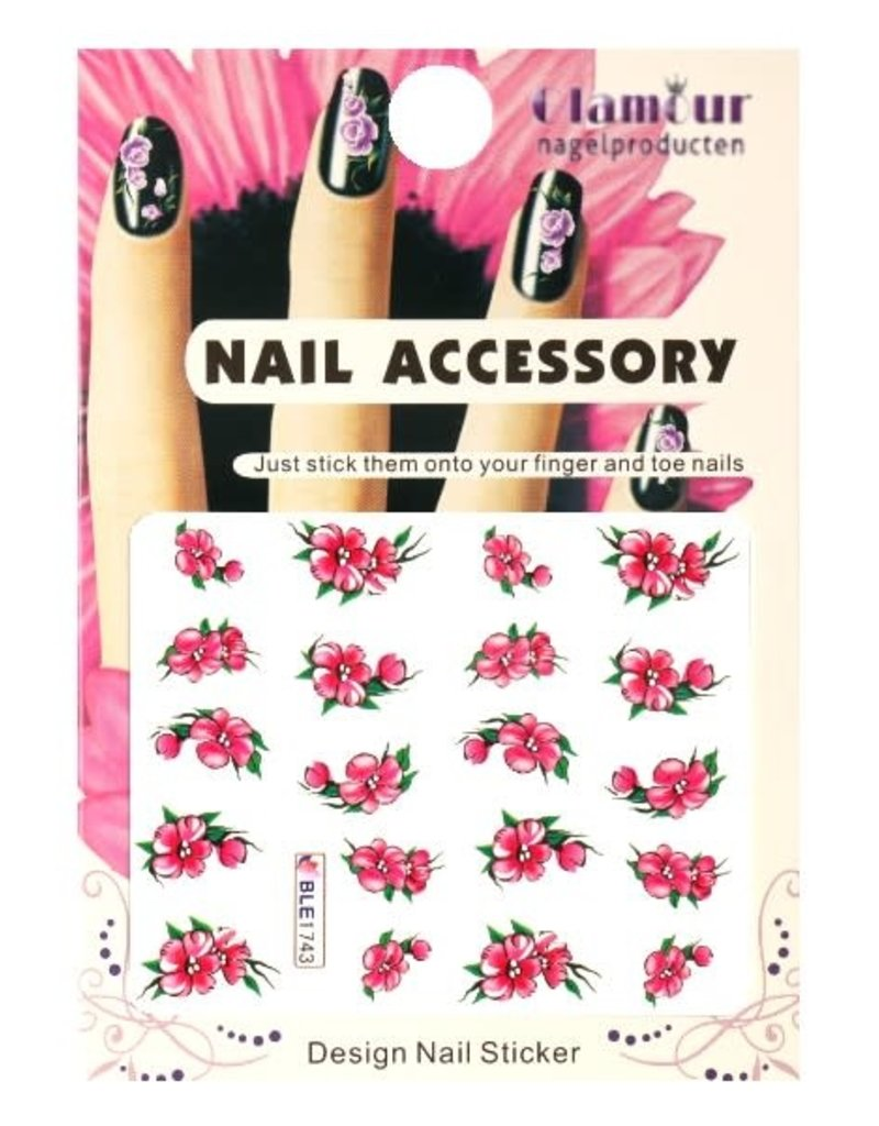 Waterdecal Flowers BLE1743