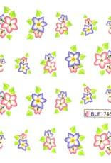 Waterdecal Bloemen BLE1746