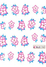 Waterdecal Flowers BLE1742