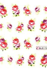Waterdecal Bloemen BLE1739