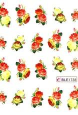 Waterdecal Bloemen BLE1738