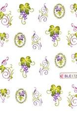 Waterdecal Bloemen BLE1720