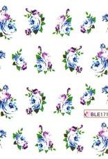 Waterdecal Bloemen BLE1719