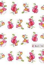 Waterdecal Bloemen BLE1744