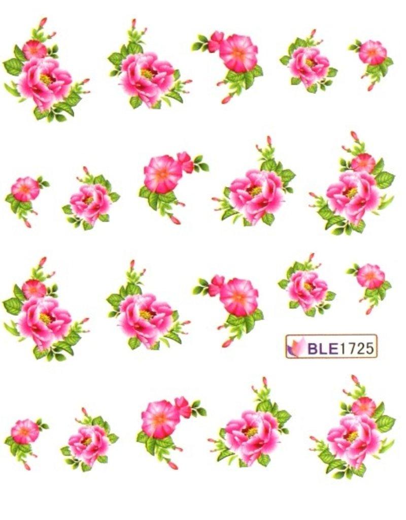 Waterdecal Bloemen BLE1725