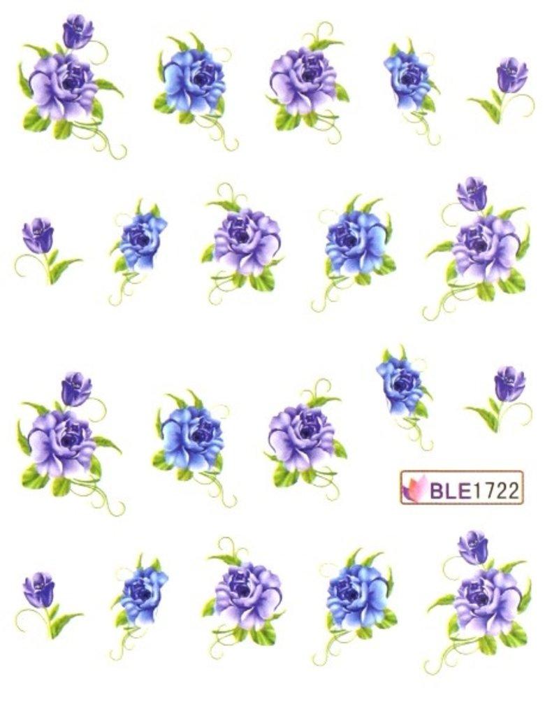 Waterdecal Bloemen BLE1722