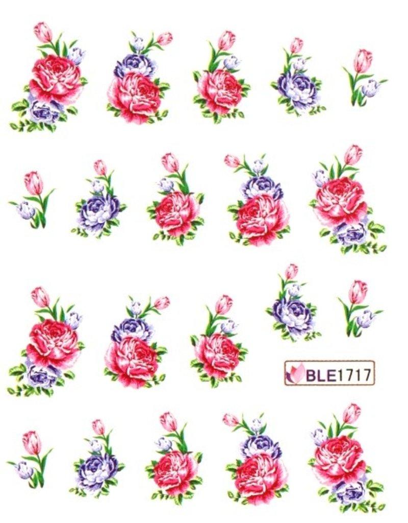 Waterdecal Bloemen BLE1717