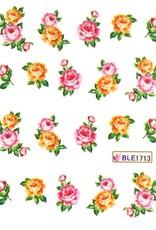 Waterdecal Bloemen BLE1713