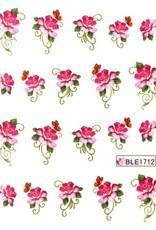 Waterdecal Bloemen BLE1712