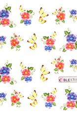 Waterdecal Bloemen BLE1711
