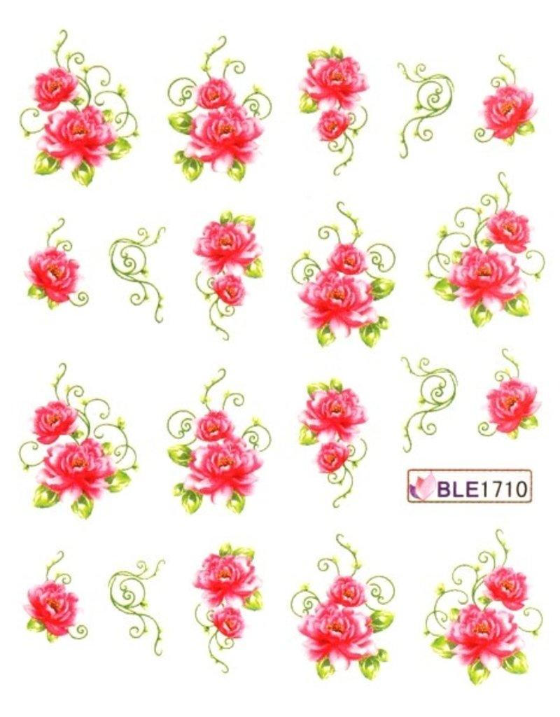 Waterdecal Bloemen BLE1710