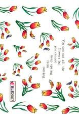 Waterdecal Tulpen