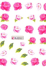 Waterdecal Rose 1