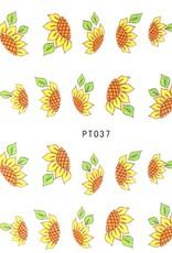 3D Sticker Sunflower