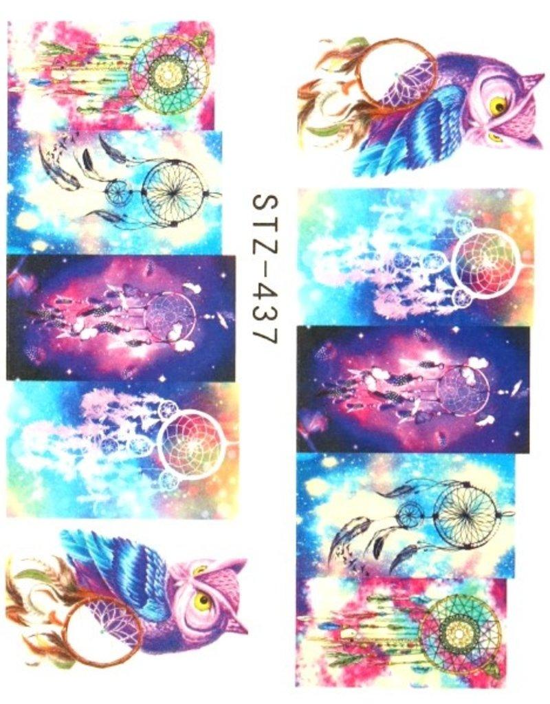 Animal Print Owl/Dreamcatcher