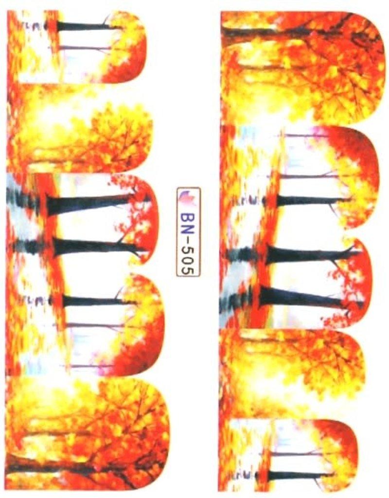 Waterdecal Autumn BN-505