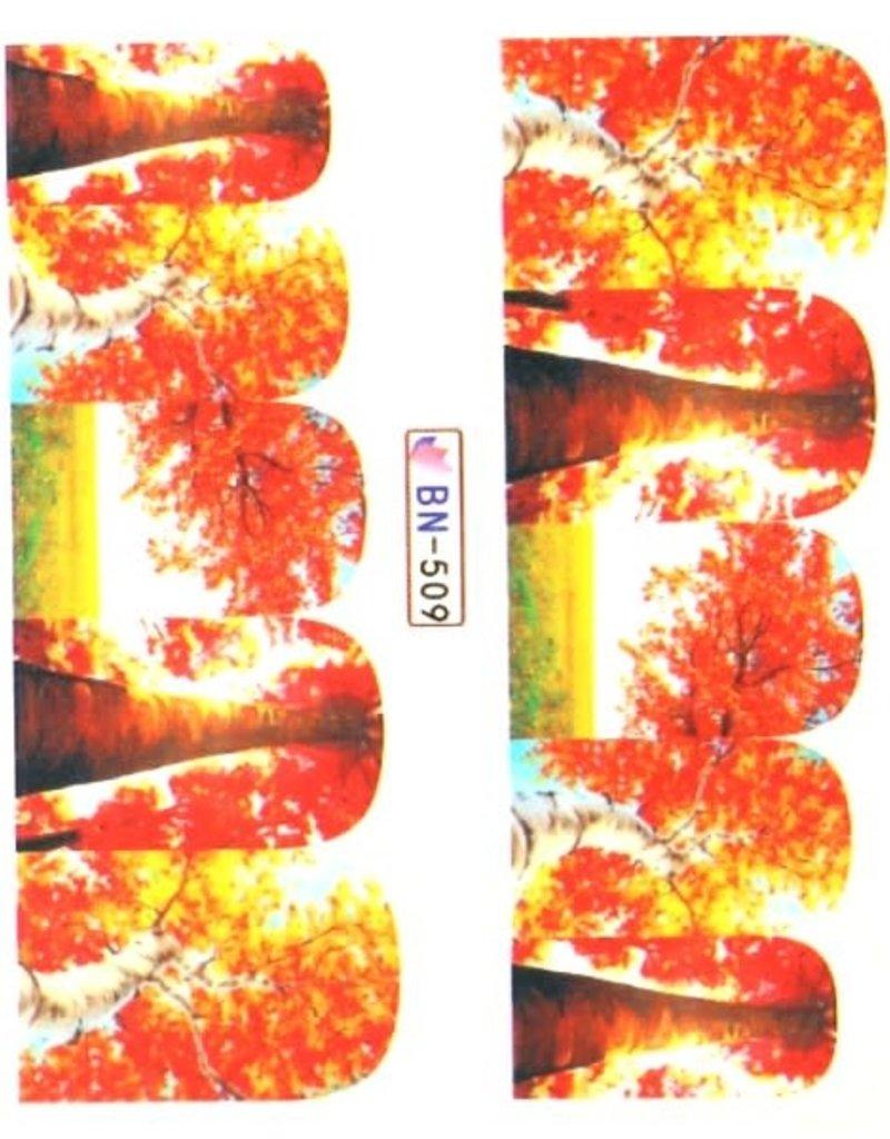 Waterdecal Autumn BN-509