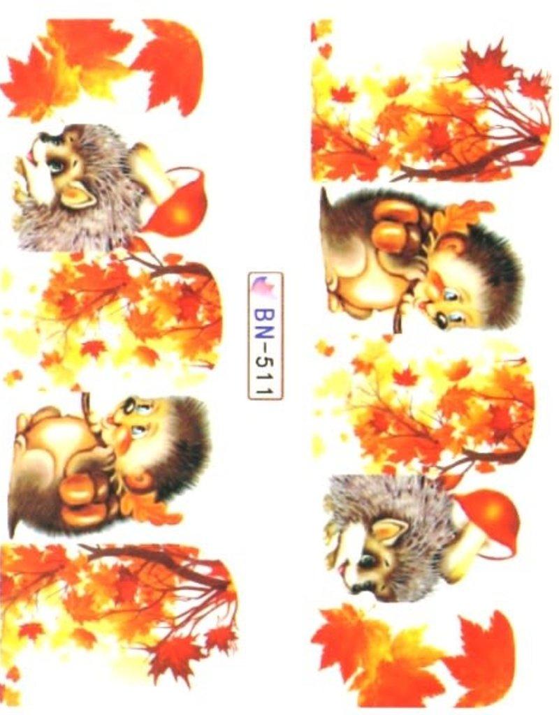 Waterdecal Autumn BN-511