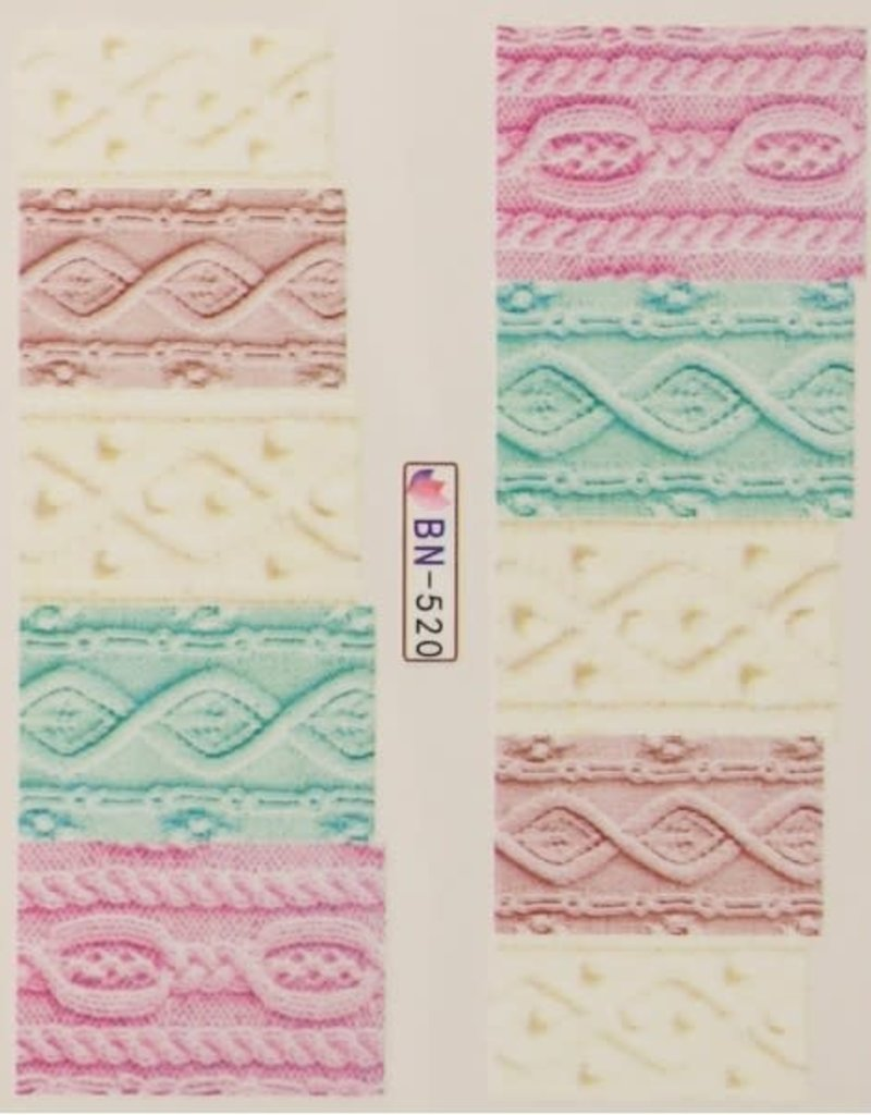 Waterdecal Fabric Style BN-520