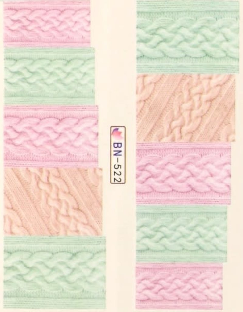 Waterdecal Fabric Style BN-522