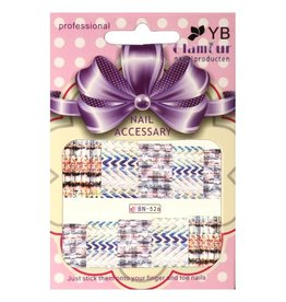 Waterdecal Fabric Style BN-526