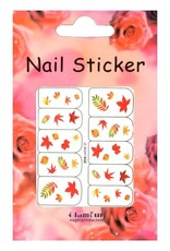 Waterdecal Nail Tattoo Leaf