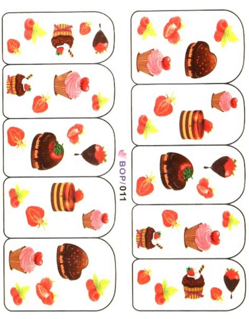 Waterdecal Cakes