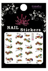 Waterdecal Butterfly Multicolor