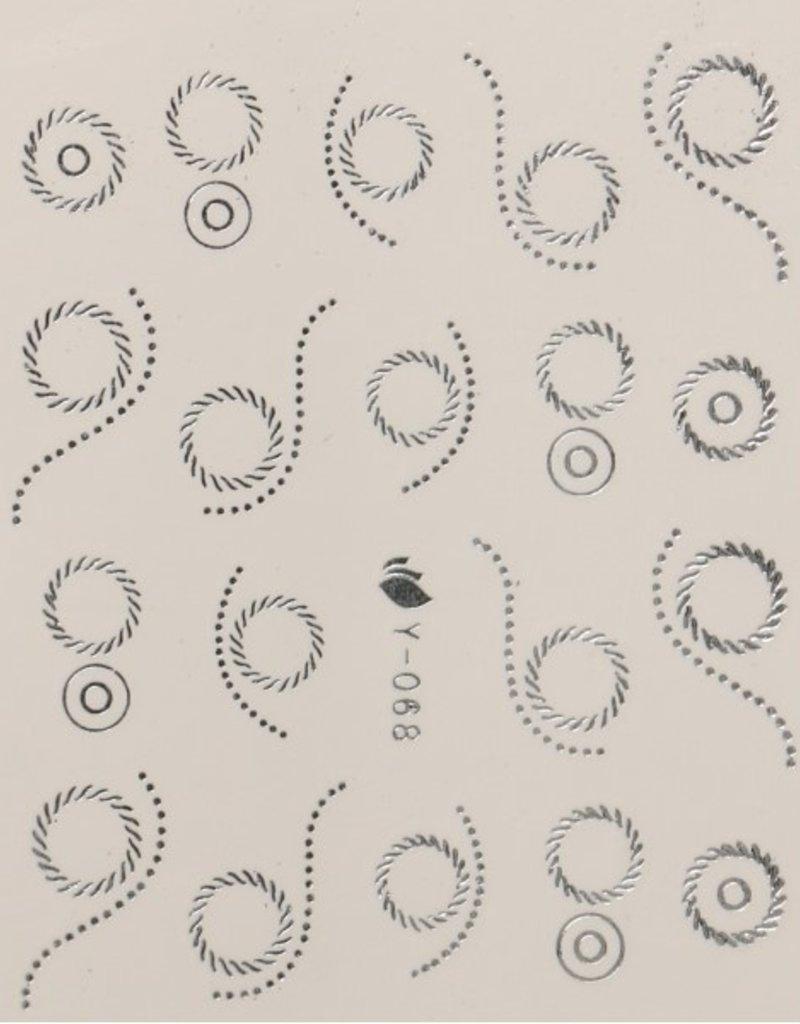Waterdecal Ziver Y-068