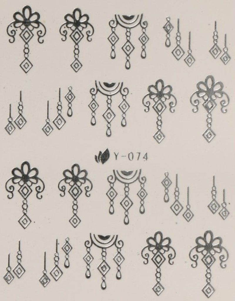Waterdecal Ziver Y-074