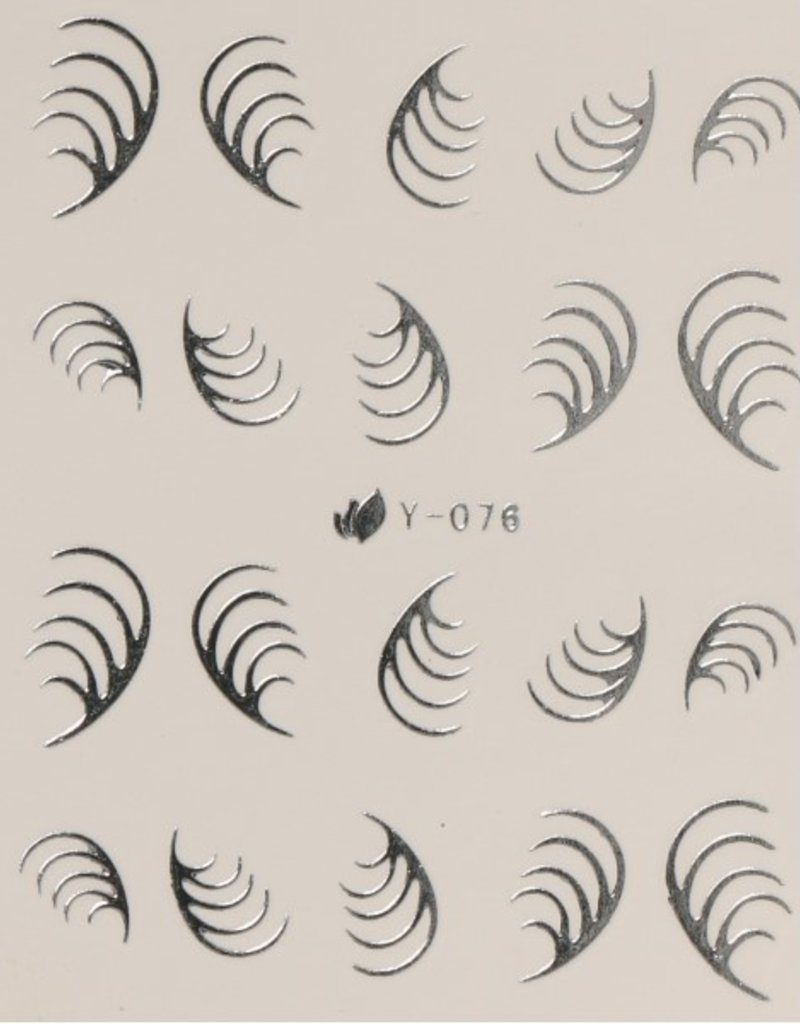 Waterdecal Ziver Y-076