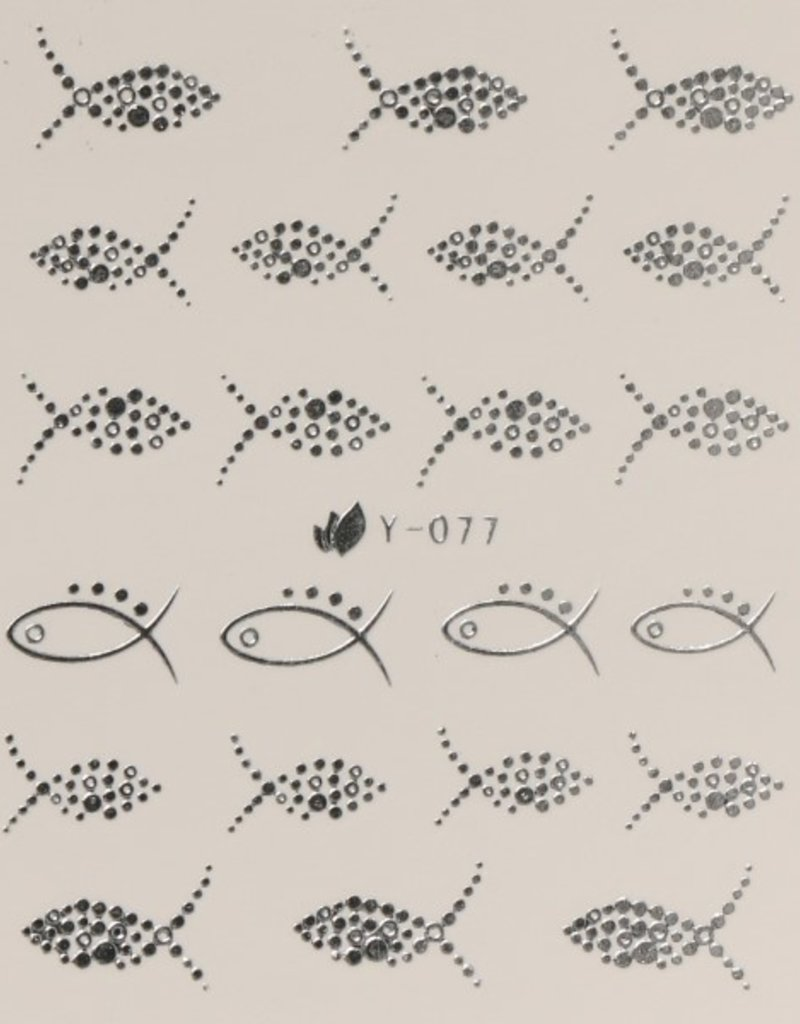 Waterdecal Ziver Y-077