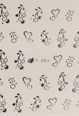 Waterdecal Ziver Y-083
